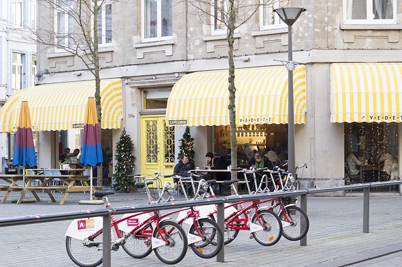 lunch hotspots Kaffeenini Antwerpen