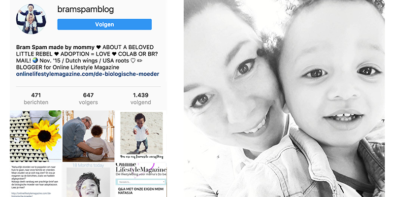 Mommy blogger Instagram inspiratie