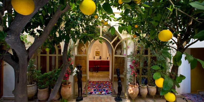 Mooie riad in Marrakech