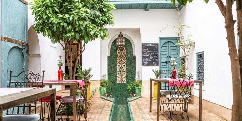Hippe riad Marrakech