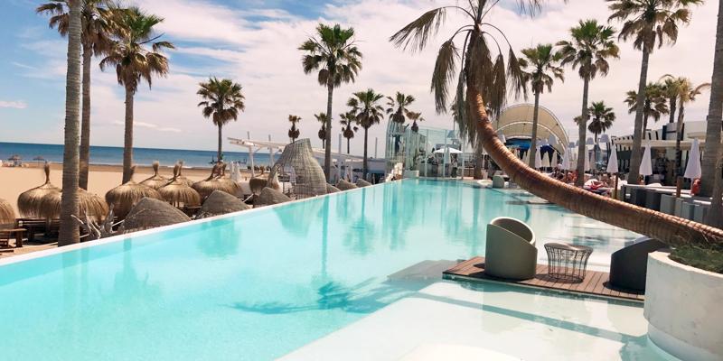 Hotspots strand Valencia
