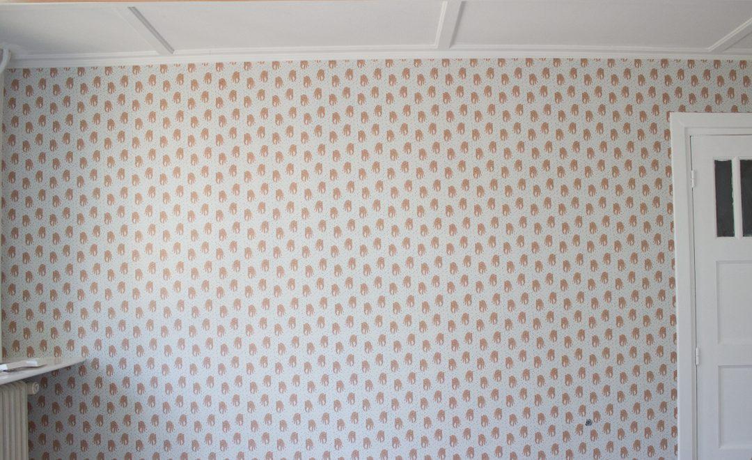 Babykamer Ideeen Behang : Babykamer deel het behang zit erop the story styler