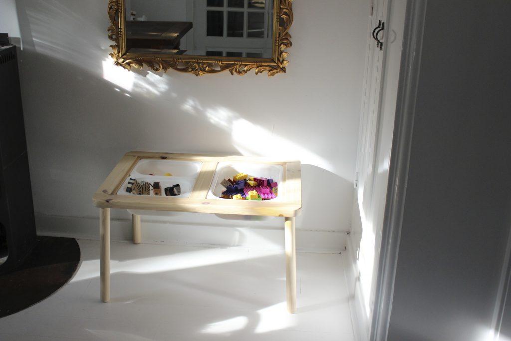 sensory tafel ikea cadeau eerste verjaardag