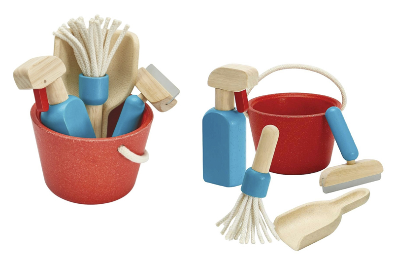 Plantoys schoonmaakset speelgoed